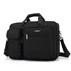"""olcso Laptop kütyük-Coolbell 15"""" Laptop Válltáska Textil Tömör szín üzleti irodához a Colleages & Schools számára Unisex Vízálló Ütésálló"""