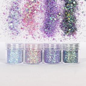 olcso Körömápolás-10ml Glitter & Poudre / Flitter / Púder Glitters / Klasszikus Napi