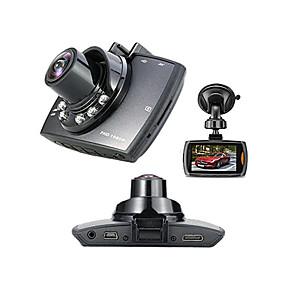 """voordelige Auto DVR's-Full HD 1920 x 1080 Bewegingsdetectie / G-Sensor / 720P Auto DVR 120 graden Wijde hoek 1/4"""" kleuren CMOS 2.7 inch(es) Dash Cam met 6 infrarood LED's Autorecorder"""
