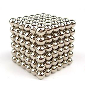 povoljno Igračke i razonoda-216 pcs 4mm Magnetne igračke Magnetske kuglice Kocke za slaganje Snažni magneti Magnetska igračka Puzzle Cube Magnet Dječji / Odrasli Dječaci Djevojčice Igračke za kućne ljubimce Poklon