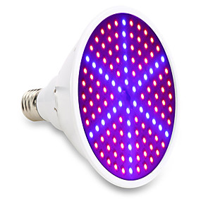 cheap Grow Lights-Grow Light LED Plant Growing Light Full Spectrum 85-265V 15W E27 126SMD 90red and 36blue Indoor Plant Lamp for Plants Vegs Flower Hydroponic System
