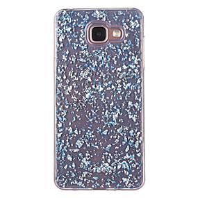 voordelige Galaxy A5(2016) Hoesjes / covers-hoesje Voor Samsung Galaxy A5(2016) / A3(2016) Stofbestendig / Patroon Achterkant Glitterglans Zacht TPU