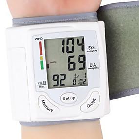 olcso Vérnyomás-egészségügyi csukló hordozható digitális automata vérnyomásmérő