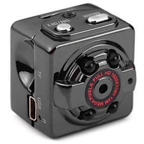 Недорогие Видеорегистраторы для авто-SQ8 HD 1280 x 720 / 1280 x 720 / 1920 x 1080 Автомобильный видеорегистратор 65 градусов Широкий угол КМОП-структура Нет экрана (выход на