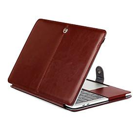 """رخيصةأون ماك بوك برو 15 """"الحالات-MacBook صندوق سادة جلد PU إلى MacBook Pro 15-inchمع شاشة ريتينا / MacBook Pro 13-inchمع شاشة ريتينا"""