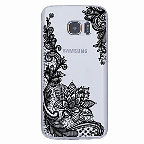 voordelige Galaxy S6 Edge Plus Hoesjes / covers-hoesje Voor Samsung Galaxy S7 edge / S7 / S6 edge plus Ultradun / Patroon Achterkant Geometrisch patroon Zacht TPU