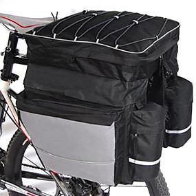 cheap Cycling & Bike Accessories-FJQXZ 64 L Bike Panniers Bag Waterproof Handbag 3 In 1 Large Capacity Waterproof Bike Bag Polyester 600D Nylon Bicycle Bag Cycle Bag Road Bike Mountain Bike MTB Cycling / Bike / Reflective Strips