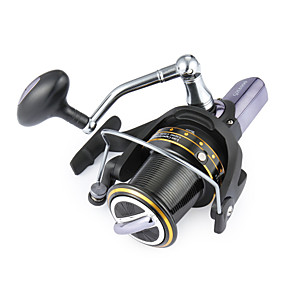 levne Fishing & Hunting-Role za ribolov Smékací navíjáky 4.1:1 Převodový poměr+14 Kuličková ložiska Ruční Orientace Vyměnitelný Mořský rybolov