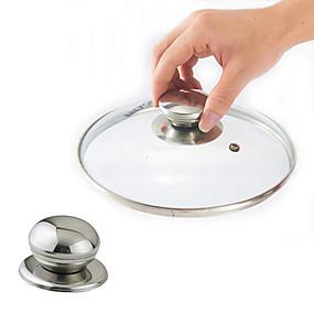 olcso Kuhinjsko posuđe i gadgeti-rozsdamentes acél edényfedél cserélhető fogantyú fedél tartókar