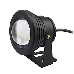 olcso LED projektorok-1db 10 W Vízalatti világítás Vízálló / Dekoratív Meleg fehér / Hideg fehér 12 V Kültéri világítás / Úszómedence 1 LED gyöngyök