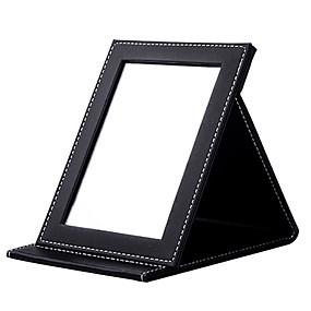povoljno Potrepštine za šminkanje-Ogledalo za šminkanje Kozmetička ogledala Zrcalo Šminka Quadrate Klasik Dnevno Kozmetički Potrepštine za održavanje krzna