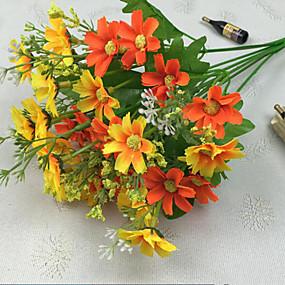 olcso Művirágok-Művirágok 1 Ág Modern stílus Százszorszépek Asztali virág
