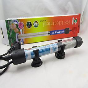 Недорогие Обогреватели и термометры для аквариумов-Аквариумы и цистерны Обогреватели Металл Нетоксично и без вкуса 50 W 220 V
