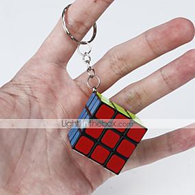 povoljno Igračke i razonoda-Magic Cube IQ Cube Glatko Brzina Kocka Magične kocke Key Chain Male kocka Glatka naljepnica Klasični Zabava Fun & Whimsical Klasik Dječji Odrasli Igračke za kućne ljubimce Uniseks Dječaci Djevojčice