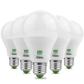 ieftine Becuri LED Glob-ywxlight® de economisire a energiei e27 / e26 5730smd 7watts 14led alb cald alb rece super mare luminozitate condus bec 12v 12-24v
