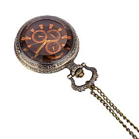 Недорогие Фирменные часы-JUBAOLI Муж. Карманные часы Кварцевый Бронза Повседневные часы / Аналоговый На каждый день - Бронзовый Один год Срок службы батареи / SSUO LR626