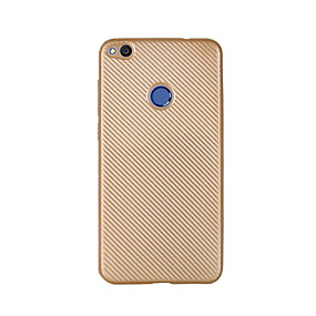 voordelige Huawei Honor hoesjes / covers-hoesje Voor Huawei Honor 5C / Huawei Geniet 5S / Huawei P8 Lite (2017) / Honor 8 / Huawei Honor 5C Ultradun Achterkant Effen Zacht Hiilikuitu