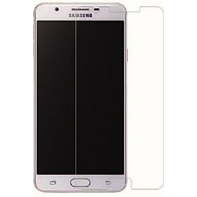 Недорогие Защитные пленки для Samsung-Samsung GalaxyScreen ProtectorJ7 Prime HD Защитная пленка для экрана 1 ед. Закаленное стекло