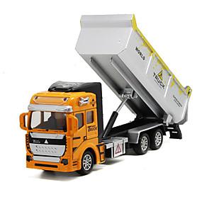 رخيصةأون ألعاب السيارات-1: 160 المعدنية بلاستيك شاحنة قلابة لعبة الشاحنات ومركبات البناء لعبة سيارات للأطفال ألعاب السيارات