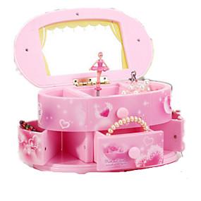 povoljno Igračke i razonoda-Glazba Box Kutija za glazbeni nakit Baletna plesačica Rasvjeta plastika Classic & Timeless Dječaci Djevojčice Igračke za kućne ljubimce Poklon