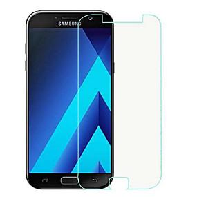 Недорогие Чехлы и кейсы для Galaxy A-Samsung GalaxyScreen ProtectorA7 (2017) HD Защитная пленка для экрана 1 ед. Закаленное стекло