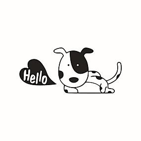 رخيصةأون ملصقات ديكور-حيوانات أزياء كارتون ملصقات الحائط لواصق حائط الطائرة لواصق حائط مزخرفة لواصق مفتاح الاضاءة, الفينيل تصميم ديكور المنزل جدار مائي جدار