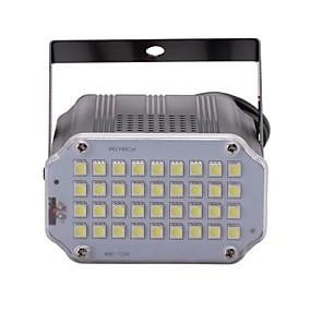 olcso Színpadi LED fények-U'King 10 W LED reflektorok Állítható / Könnyű beszerelni / Hang-aktiválás Hideg fehér 110-240 V LED gyöngyök / 1 db. / RoHs / CE / FCC