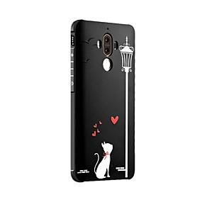 voordelige Huawei Honor hoesjes / covers-hoesje Voor Huawei / Huawei Mate 7 / Huawei Mate 8 Honor 6X / Huawei Mate 7 / Huawei Mate 8 Schokbestendig / Mat / Reliëfopdruk Achterkant Kat Zacht Siliconen / Mate 9 Pro
