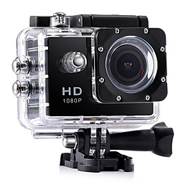 cheap Sports Cameras & Accessories For GoPro-CA7 vlogging Waterproof / Multi-function / Wide Angle 32 GB 60fps / 120fps / 30fps 12 mp 1920 x 1080 Pixel 2 inch CMOS Burst Mode / Time-lapse 30 m