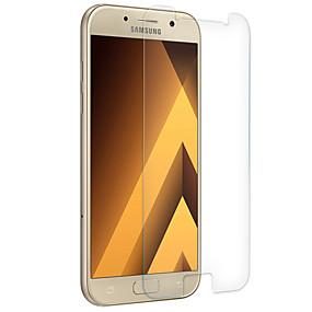 Недорогие Чехлы и кейсы для Galaxy A-Samsung GalaxyScreen ProtectorA7 (2017) Уровень защиты 9H Защитная пленка для экрана 1 ед. Закаленное стекло