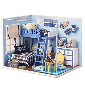 olcso Vakációs kellékek-Zenedoboz DIY Fa Gyermek Uniszex Játékok Ajándék