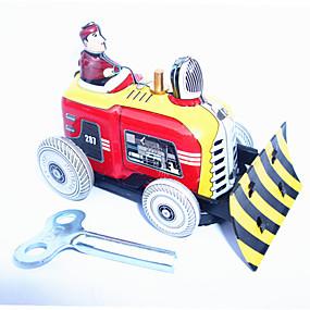 olcso Klasszikus játékok-Felhúzós játék Dózer Vas Fém 1 pcs Gyermek Játékok Ajándék