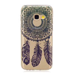 voordelige Galaxy A3(2016) Hoesjes / covers-hoesje Voor Samsung Galaxy A3 (2017) / A5 (2017) / A5(2016) Doorzichtig / Patroon Achterkant Dromenvanger Zacht TPU