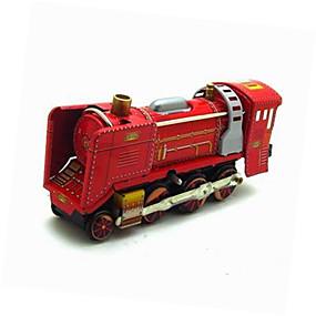 olcso Klasszikus játékok-Játékautók Felhúzós játék Vonat Vonat Vas Fém 1 pcs Gyermek Játékok Ajándék