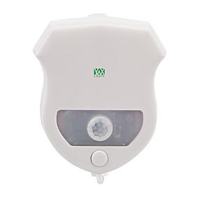 ieftine Lumini Nocturne LED-YWXLIGHT® 1 piesă Toaletă ușoară Rezistent la apă / Senzor Modern contemporan