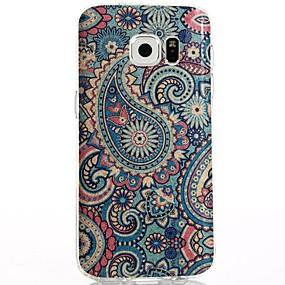 voordelige Galaxy S7 Hoesjes / covers-hoesje Voor Samsung Galaxy S8 Plus / S8 / S7 edge IMD / Patroon Achterkant Cartoon / Uil Zacht TPU