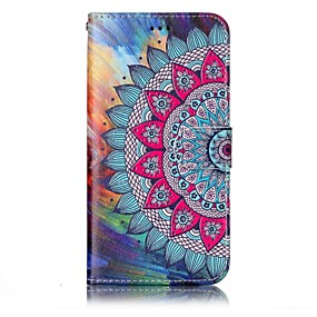 cheap LG-Case For LG LG G6 Wallet / Card Holder / with Stand Full Body Cases Mandala Hard PU Leather