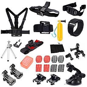 olcso Sportkamerák és GoPro tartozékok-Akciókamera / Sport kamera Tripod állvány Több funkciós Összecsukható Állítható 1 pcs mert Akciókamera Gopro 6 Összes Xiaomi Camera SJCAM SJ5000 Búvárkodás Szörfözés Síelés PVC EVA ABS / SJCAM S70