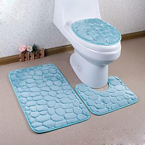 رخيصةأون سجادات-1PC الحديث سجاد المنطقة الفانيلي عصري حمام سهلة التنظيف