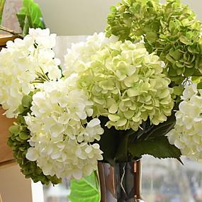 رخيصةأون أزهار اصطناعية-زهور اصطناعية 1 فرع الطراز الأوروبي أرطنسية أزهار الطاولة