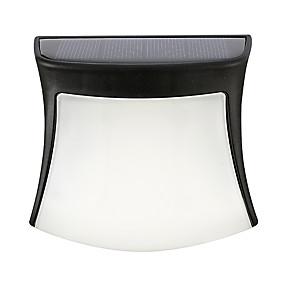 Χαμηλού Κόστους Ηλιακά φώτα LED-0.5 W LED Προβολείς Αδιάβροχη / Επαναφορτιζόμενο / Εύκολη Εγκατάσταση Θερμό Λευκό / Ψυχρό Λευκό / Φυσικό Λευκό Εξωτερικός Φωτισμός 3 LED χάντρες