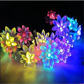 ieftine Fâșii Becurie LED-10m Fâșii de Iluminat 100 LED-uri Dip Led Alb Cald / RGB / Alb Rezistent la apă 220 V