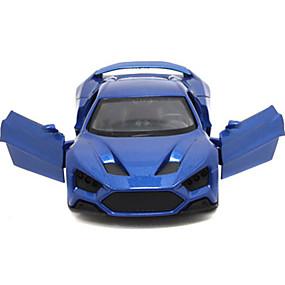 olcso Szabadidő hobbi-Felhúzós járművek Versenyautó Autó Uniszex Játékok Ajándék / Fém