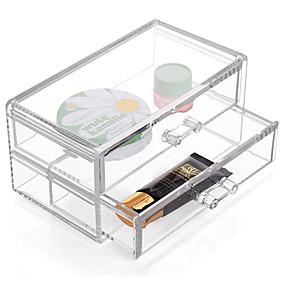 ieftine Stocare și Organizare-textil / Plastic Oval Plastic / Călătorie Acasă Organizare, 1 buc Cutii stocare / Sertare / Organizator de Rochii