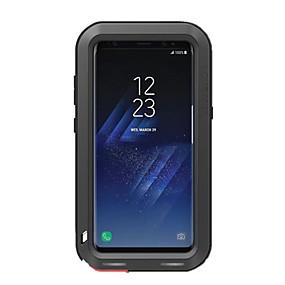 olcso Galaxy S8 tokok-Case Kompatibilitás Samsung Galaxy S8 Plus / S8 Ütésálló / Vízálló Héjtok Egyszínű Kemény Fém
