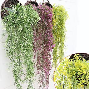 halpa Tekokukat-Keinotekoinen Flowers 1 haara Pastoraali Tyyli Kasvit Kori Kukka