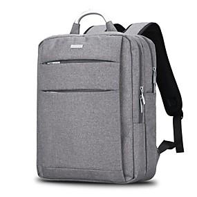"""olcso Laptop kütyük-15"""" Laptop Válltáska Műanyag Üzlet / Tömör szín üzleti irodához a Colleages & Schools számára Unisex Vízálló Ütésálló"""