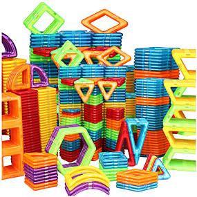 povoljno Igračke i razonoda-Magnetski blok Magnetske pločice Kocke za slaganje 20-128 pcs Automobil Roboti Ferris Wheel kompatibilan Legoing Dar S magnetom 3D Dječaci Djevojčice Igračke za kućne ljubimce Poklon