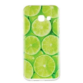 voordelige Galaxy A5(2016) Hoesjes / covers-hoesje Voor Samsung Galaxy A3 (2017) / A5 (2017) / A5(2016) Patroon Achterkant Fruit Zacht TPU