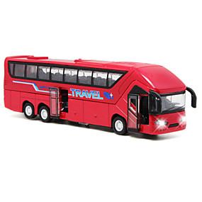 رخيصةأون ألعاب السيارات-لعبة سيارات سيارات السحب حافلة حافلة محاكاة للجنسين ألعاب هدية / معدن